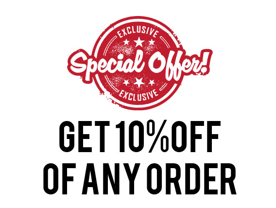10% off any order tampa